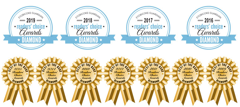 Home Instead Senior Care Etobicoke has been awarded best Home Care provider in Etobicoke eleven years in a row (2009 to 2019)